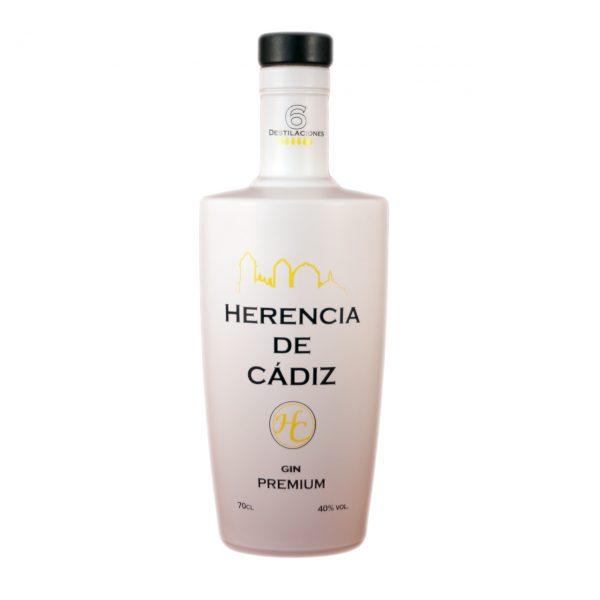 Herencia de Cádiz (ginebra  artesanal de Cádiz)